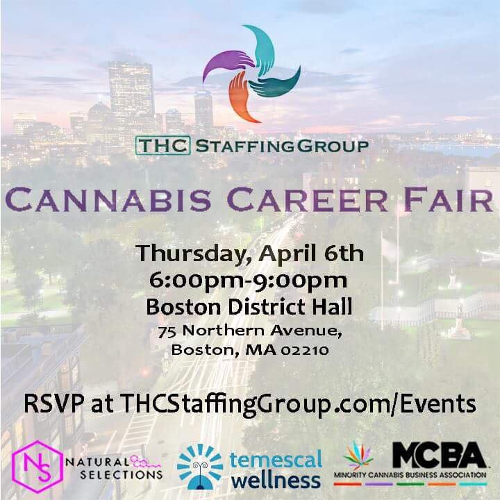 cannabis career fair, THC Staffing